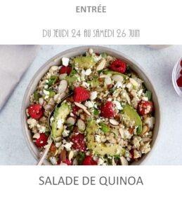 achat vente salade de quinoa traiteur plat à emporter avignon barbentane saint rémy provence