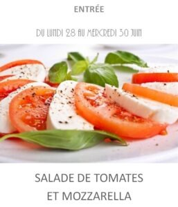 achat vente salade tomate mozza traiteur plat à emporter avignon barbentane saint rémy provence
