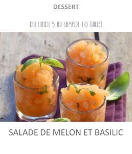 achat vente melon basilic traiteur plat à emporter avignon barbentane saint rémy provence
