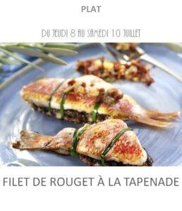 achat vente filet rouget tapenade traiteur plat à emporter avignon barbentane saint rémy provence