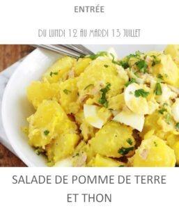 achat vente salade pomme de terre thon traiteur plat à emporter avignon barbentane saint rémy provence