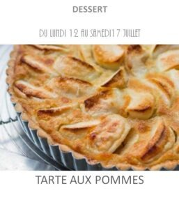 achat vente tarte aux pommes traiteur plat à emporter avignon barbentane saint rémy provence
