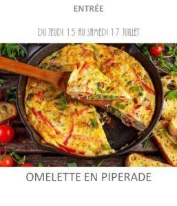achat vente omelette piperade traiteur plat à emporter avignon barbentane saint rémy provence