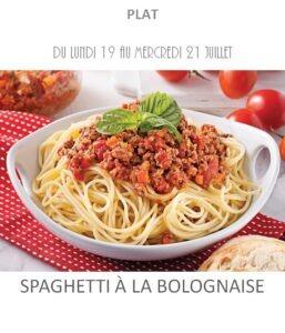 achat vente spaghetti bolognaise traiteur plat à emporter avignon barbentane saint rémy provence