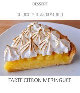 achat vente tarte citron meringuée traiteur plat à emporter avignon barbentane saint rémy provence
