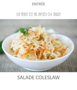achat vente salade coleslaw traiteur plat à emporter avignon barbentane saint rémy provence