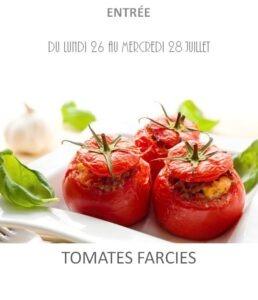 achat vente tomates farcies traiteur plat à emporter avignon barbentane saint rémy provence