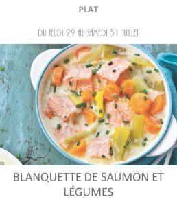 achat vente blanquette saumon traiteur plat à emporter avignon barbentane saint rémy provence