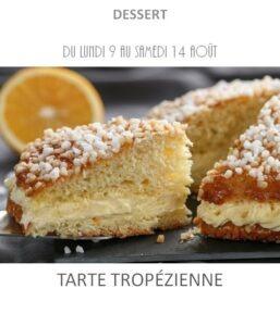 achat vente tarte tropézienne traiteur plat à emporter avignon barbentane saint rémy provence