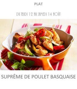 achat vente suprême de poulet basquaise traiteur plat à emporter avignon barbentane saint rémy provence