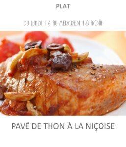 achat vente pavé de thon niçoise traiteur plat à emporter avignon barbentane saint rémy provence